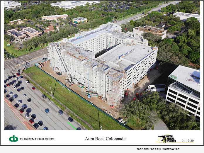 Current Builders - Aura Boca Colonnade
