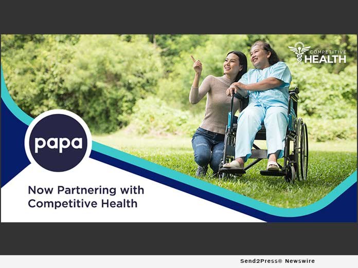 Papa and Competitive Health partner